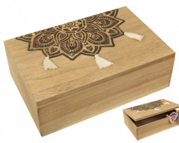 Jewellery Gold Mandala Box  Code MANDGBOX