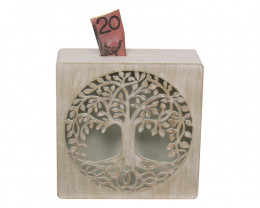 Decorative Tree Of Life Money Box   code TOLMB