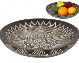Tribal Pattern Boho Plate  Code BOHOTLPL