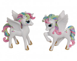 Treasure Box of Rainbow Unicorn Pegasus 6pcs Code UNIRSTS