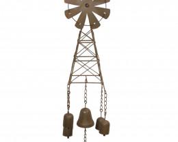 Farm Cast Iron Wind Chime Windchime  Code WINBELWC