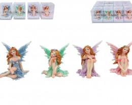 Glitter Fairy Garden 4pcs  Code FAIRYPDQ