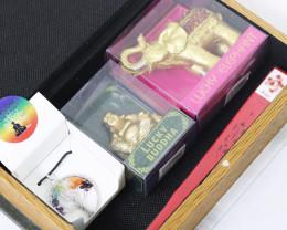Elephant Safari Bookcase  5 pc Gift set    code SAF