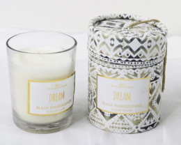 Dream Black Pomegranate Scented Candle  code CANBOHOP