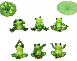 Green Marble Look Frogs display  Code FROGMPAD