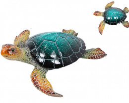 Treasure Box of Realistic Marble Blue Turtle  Code TURTMJ