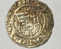 Ancient Hungray  1549 Madonna & Child Denar Ferdinand  code CP 719