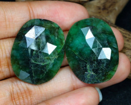 41.57 Cts Green Emerald  CCC 576