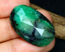 17.58 Cts Green Emerald  CCC 577