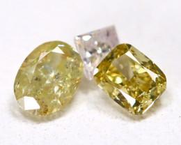 0.46 Ct Fancy Color Diamond  CCC 604