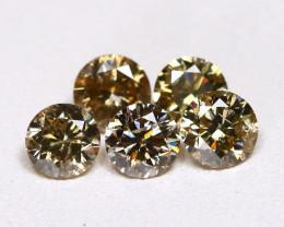 1.01 Ct Champagne Diamond  CCC 607