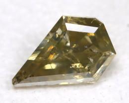 0.22Ct Fancy Green Diamond  CCC 610
