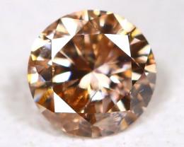 0.12 Ct Fancy Orange Diamond  CCC 613