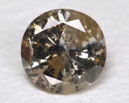 0.14 Cts Salt and Pepper Diamond  CCC 617