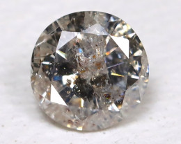 0.14 Ct Salt and Pepper Diamond  CCC 618
