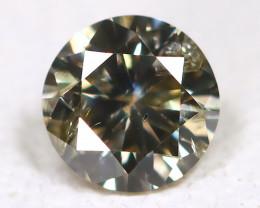 0.11 Cts Greenish Metalic Diamond  CCC 621