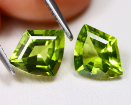 2.85 Cts Neon Green Peridot  CCC 625