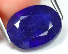 7.27 Cts Royal Blue Sapphire   CCC 635