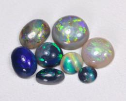 2.16Cts  Parcel Aussie Black  Opals    code CCC 659