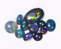 2.64Cts  Parcel Aussie Black  Opals    code CCC 665