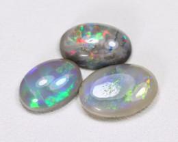 2.5Cts  Parcel Aussie Black  Opals    code CCC  667