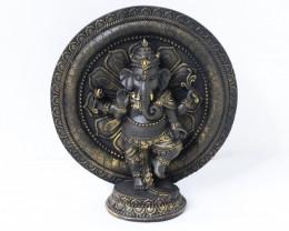 Resin Ganesh Decorative  Code GANLOTFL