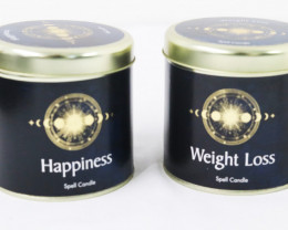 Hapiness & Weight Loss Scented Candles code CANLUCKY