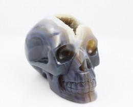 Crystal Jasper Skull deep crystalization  WS 1006-7