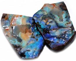 2500 Cts Boulder Opal  Split  code CCC878