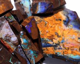 2450 Cts Boulder Rough Opal Parcels  code CCC880