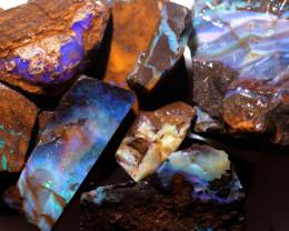2725 Cts Boulder Rough Opal Parcels  code CCC883