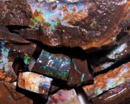 2390 Cts Boulder Rough Opal Parcels  code CCC886