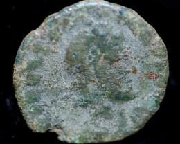 Original as found, Ancient Roman coin   CCC935