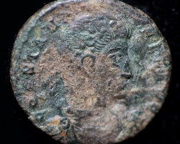 Original as found, Ancient Roman coin   CCC941