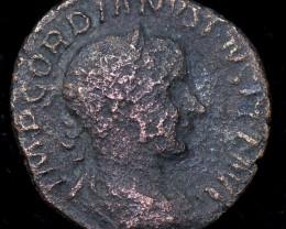 Original as found, Ancient Roman coin   CCC957