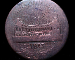 Rare British Token Birmingham  coin   code CC977
