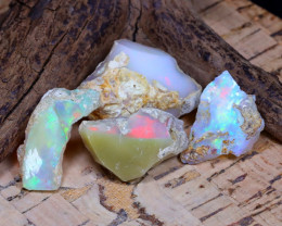 31.25Ct  Natural Ethiopian Welo Opal Rough  CH 828