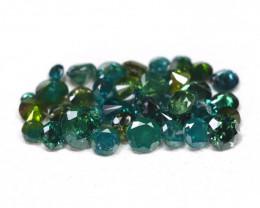 0.83Ct Natural Fancy Green Diamond  CH 832