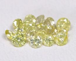 0.71Ct Yellow Fancy Diamond  CH 833