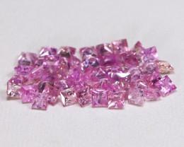 3.05Ct 2.0mm  Pink Sapphire  CH 838
