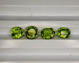 6.35Cts  Green Peridot Parcel  CH 842