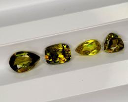 1.58 Cts Sphene Gemstone Parcel   CH 853