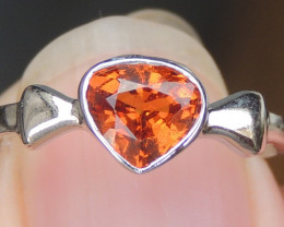 Baltic Amber Rectangular Ring size 1 , direct from Poland RN17