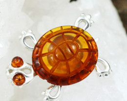 Baltic Amber Pendant , direct from Poland RN233
