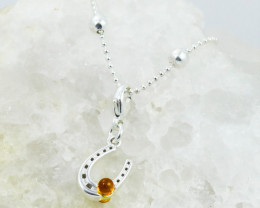 Baltic Amber Charm , direct from Poland RN418