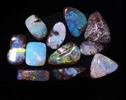 10Cts   parcel 10  Australian  Boulder  Opal  CCC 908