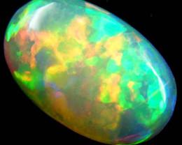 Brilliant Ethiopian Opal 3.07 Carats code QOG 349