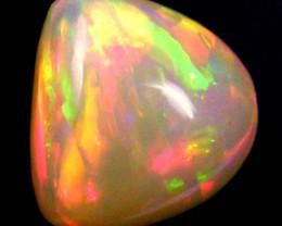 F/S Freeform bright Ethiopian Opal 4.45Carats code QOG 362