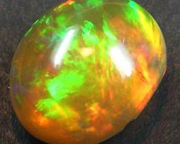 Intense fire Ethiopian Opal 1.66 Carats code QOM343
