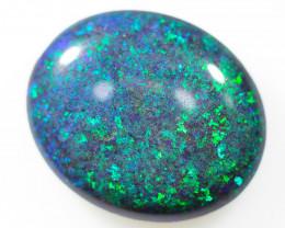 7.90 Cts Collectors Andamooka opal cut 80's OPJ 2333